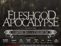 fleshgod apocalypse,omnium gatherum Bandfoto