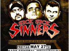 sick sick sinners Bandfoto