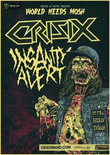 crisix, insanity alert Bandfoto