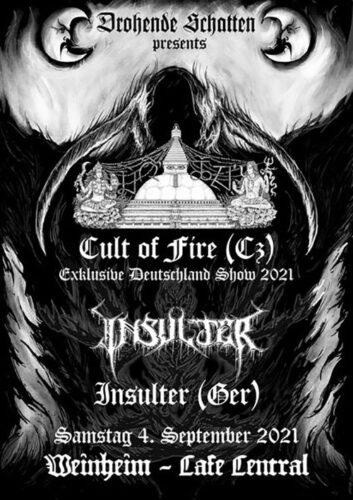 cult of fire Bandfoto
