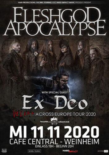 fleshgod apocalypse, ex deo Bandfoto