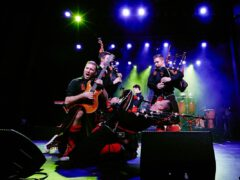 red hot chilli pipers Bandfoto